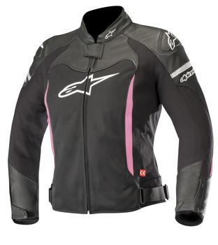 Alpinestars Stella SPX Air Jacke schwarz/weiss/pink