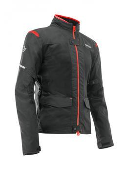 Acerbis Ramsey Vented 2.0 Long Jacke schwarz/rot
