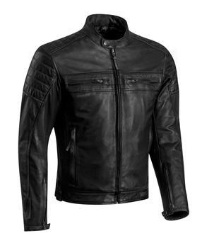 IXON TORQUE Leather Jacket Black