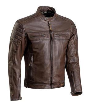 IXON TORQUE Leather Jacket Brown