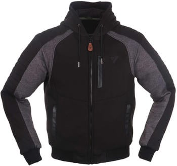 Modeka Hootch Jacke schwarz/grau