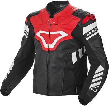 Macna Tracktix Jacke schwarz/rot