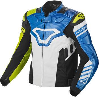 Macna Tracktix Jacke schwarz/blau