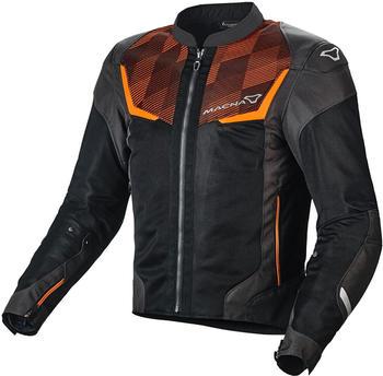 Macna Orcano Jacke schwarz/orange