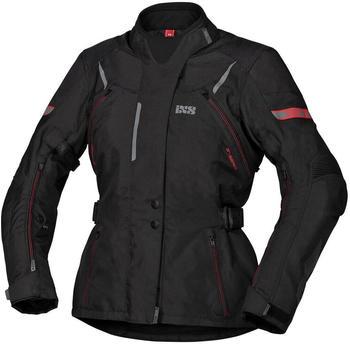 IXS Tour Liz-ST Damenjacke schwarz/rot