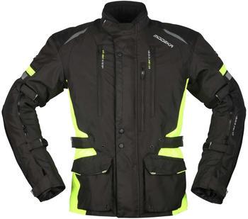 Modeka Striker II Jacke schwarz/gelb