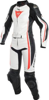 dainese-assen-2pc-lady-suit-white-red-black
