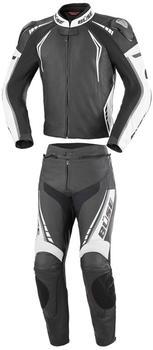 Büse Silverstone Pro Damen schwarz/weiß