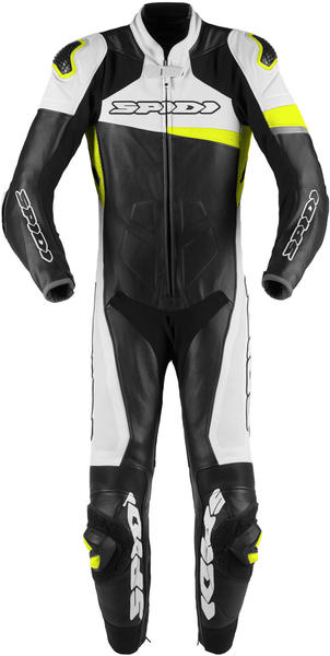 Spidi Race Warrior Perforated Black/Yellow Fluo