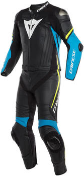 Dainese Laguna Seca 4 2PCS Black/Blue/Fluo-Yellow