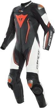 Dainese Misano 2 D-Air Perforated 1tlg. schwarz/weiß/rot