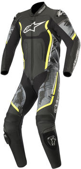 Alpinestars Motegi V2 1pc. Black/Yellow