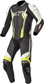 Alpinestars GP Force 1pz Black/ White/ Yellow Fluo