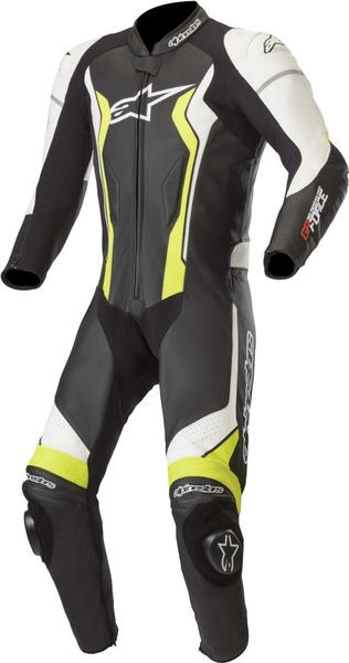 Alpinestars GP Force 1pz Black/ White/ Yellow Fluo