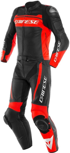 Dainese Mistel black matt/ fluor red