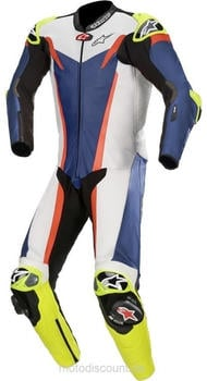 Alpinestars GP Tech V3 blue/ white/ neon-red