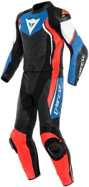 Dainese Avro D2 Lady 2 pc Black/Light Blue/Neon Red
