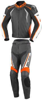 Büse Silverstone Pro Lady schwarz/weiß/orange