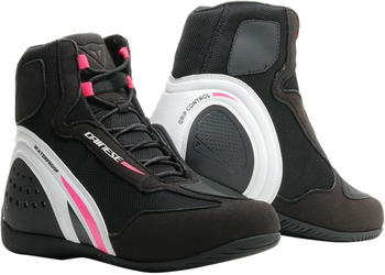 Dainese D1 Lady D-WP Boot Black/White/Pink