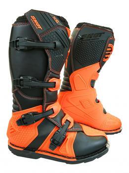 Shot X10 Boots Black/Orange