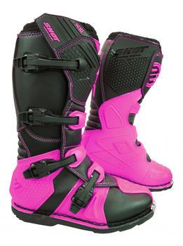 Shot X10 Boots Black/Neon Pink