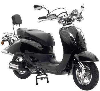 motorroller mit 4 takt motor g nstige angebote auf. Black Bedroom Furniture Sets. Home Design Ideas