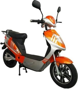 Rolektro eco-City 45 500 Watt 45 km/h orange/silber