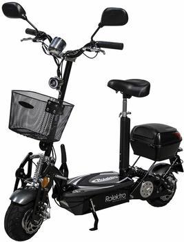 Rolektro E-Scooter Rolektro eco-Fun 20 V.2 SE Plus, Schwarz, 500 W, 20 km/h schwarz
