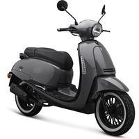 IVA Motorroller SUBLIME Euro-4-Norm 25km/h grau