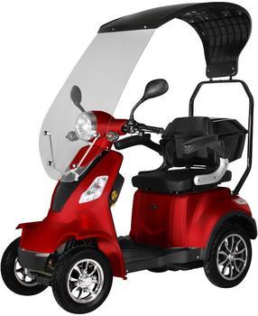 "Didi Thurau Elektromobil ""Palermo"" mit Wetterschutz (Farbe: rot, 15 km/h)"