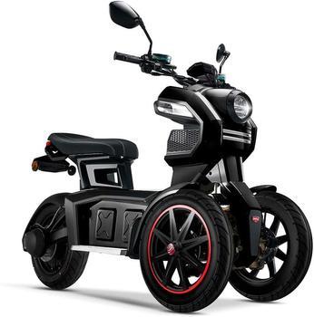Doohan eGo2 Elektroroller 1560W - 45km/h, schwarz