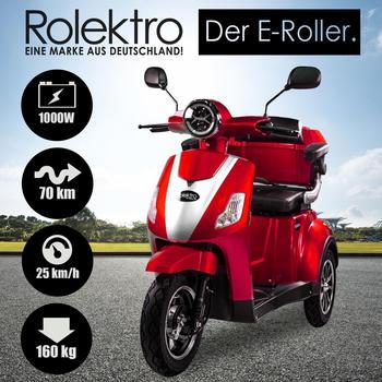 Rolektro E-Trike 25 V.3 rot