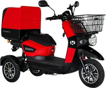 Rolektro E-Trike-Carrier 25 rot