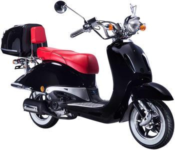 GT Union Strada 80 km/h schwarz rot glänzend