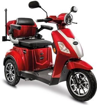 Rolektro E-Trike 15 V.3 Lithium«, rot 60-30AH Akku, 1000 Watt