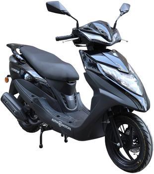 Alpha Motors Motorroller Topdrive, 125 ccm, Euro 5, schwarz