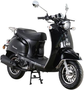 Alpha Motors Motorroller Venus, 50 ccm, 45 km/h, Euro 5, schwarz