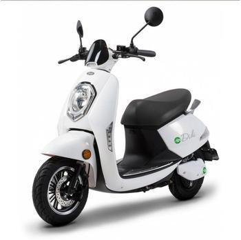 SANTA TINA Kompakt E-Roller Roma, 45 km/h, weiß