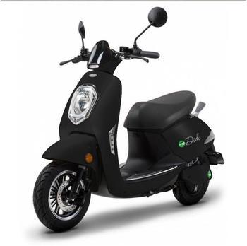 SANTA TINA Kompakt E-Roller Roma, 45 km/h, schwarz