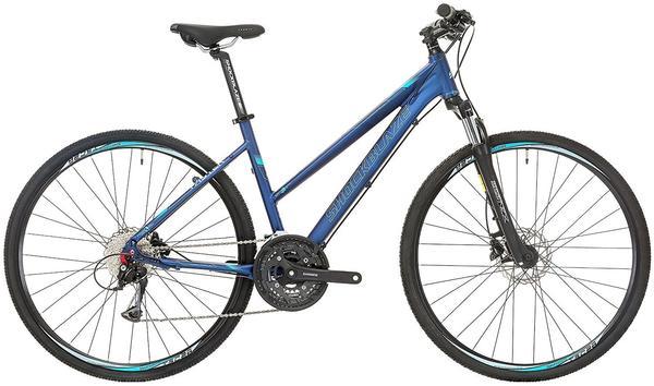 Shockblaze Faster 28 Zoll RH 45 cm Damen 27-Gang blau