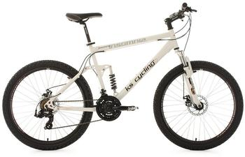 KS-CYCLING Insomnia 26 Zoll RH 50 cm weiß