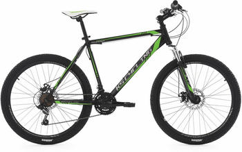KS-CYCLING Sharp 26 Zoll RH 51 cm schwarz/grün