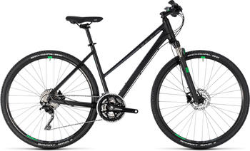 "Cube Cross Trapez BlacknGreen 46cm (28"") 2018 Tourenräder"