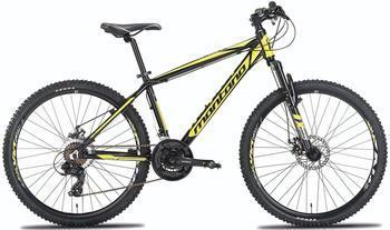 Montana Spidy 26 Zoll RH 40 cm Shimano Acera schwarz/gelb