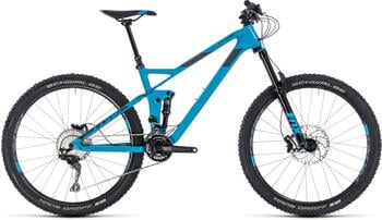 Cube Stereo 140 HPC Race BluenGrey 20"