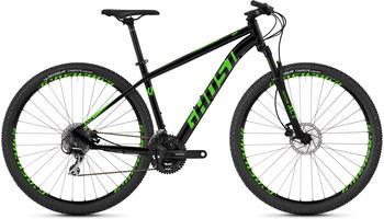 "Ghost Kato 2.9 AL 29"" night black/riot green S | 42cm (29"") 2019 Mountainbike Hardtails"