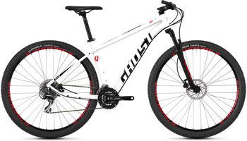 Ghost Kato 3.9 AL 29 Zoll Mountainbike Hardtail MTB Fahrrad Tour... 42 cm, star white/night black/fiery red