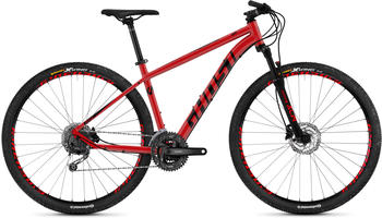 Ghost Kato 4.9 AL 29 Zoll Mountainbike Hardtail MTB Fahrrad Tour... 42 cm, riot red/night black