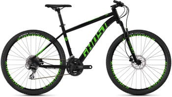Ghost Kato 2.7 AL U 27,5 Zoll Mountainbike Hardtail MTB... night blackriot green, 32 cm