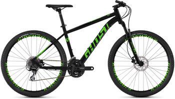 "Ghost Kato 2.7 AL 27,5"" Zoll Mountainbike Hardtail MTB Fahrrad, Rahmengrösse:50 cm, Farbe:night black | riot green"